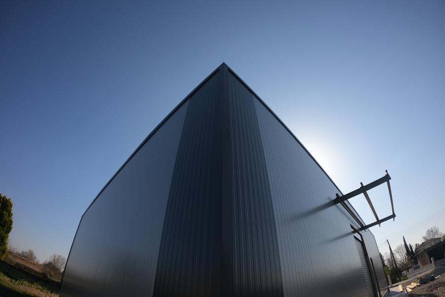 Βιομηχανικό κτήριο για επεξεργασία οστρακοειδών